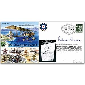 1915 Gallipoli - Signed R. Annand VC