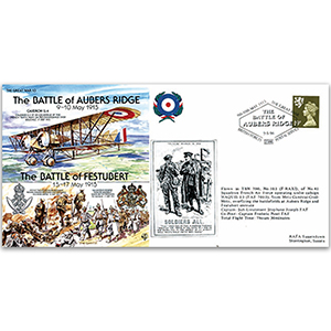 1915 Battle of Aubers Ridge - Flown