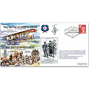 The Battle of Aubers Ridge 1915 - Flown - Signed by Pilot