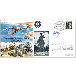 1915 Withdrawal from Gallipoli - Signed R. Wild