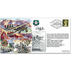 Trentino Offensive 1916 - Flown - Signed by the Pilot