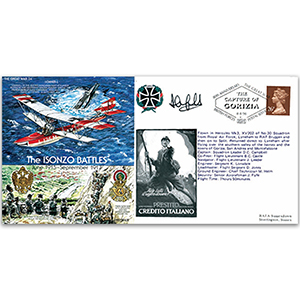 The Isonzo Battles 1915-17 - Flown and Signed by Pilot