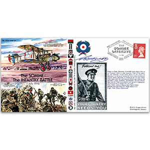 The Somme - The Infantry Battle 80th - Signed by the Pilot