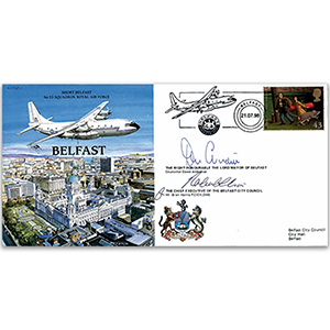 Short Belfast - Signed by Mayor and Chief Executive of Belfast City