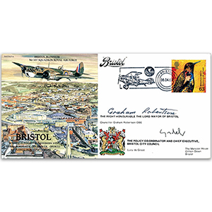 Bristol Blenheim - Signed by the Mayor and the Chief Executive of Bristol City Council