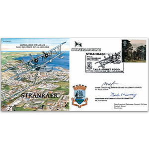 Stranraer Supermarine - Signed by the Chief Executive and the Council Chairman