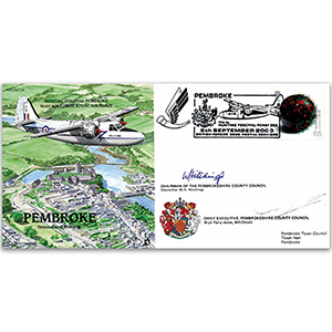 Pembroke Percival - Signed by the Chairman and the Chief Executive of Pembroke County Council