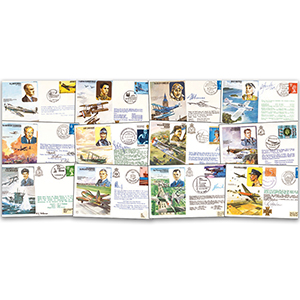 Historic Aviators Cover Collection