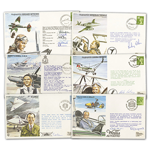Signed Test Pilot Covers