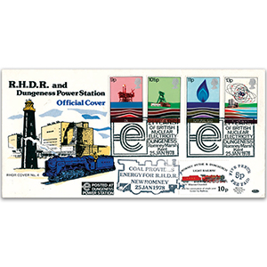 1978 Energy Resources - Romney, Hythe and Dymchurch Light Railway Cover