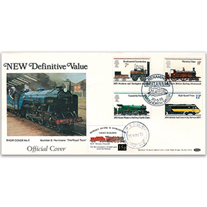 1978 New 15P Defintive - RHDR Cover
