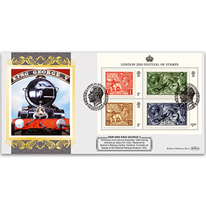 2010 King's Stamps M/S - GWR 6000 'King George V'