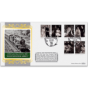 Westminster Abbey Locomotive - Platinum Wedding