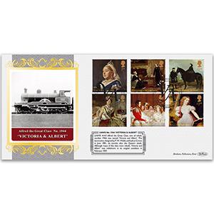 Victoria and Albert Locomotive - Queen Victoria Stamps