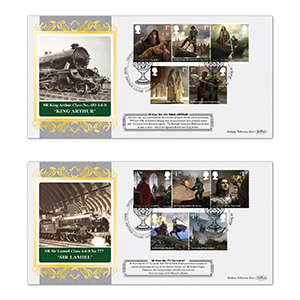 Legend of King Arthur Rail Series Pair of Covers
