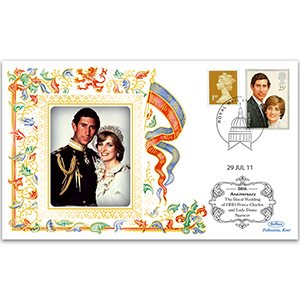 2011 30th Anniversary Marriage HRH Prince Wales & Lady Diana Spencer