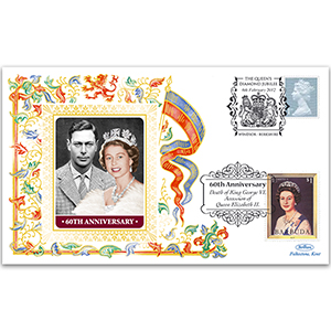 2012 HM The Queen's Diamon Jubilee and King George VI 60th Death Anniversary