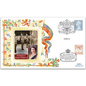 2012 Proclamation of Queen Elizabeth II 60th