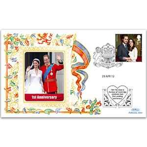 2012 Duke & Duchess of Cambridge Celebrate 1st Wedding Anniversary