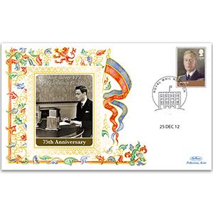 2012 75th Anniversary George VI First Christmas Speech