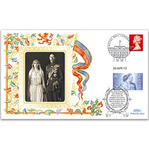 2013 Wedding of George VI & Queen Elizabeth 90th Anniversary
