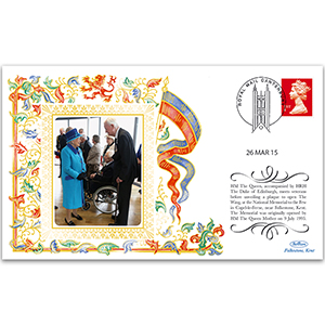2015 HM The Queen Opens Battle of Britain Centre in Capel