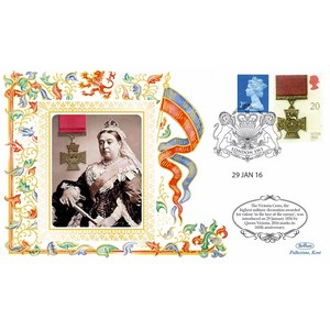 160th Anniv - Queen Victoria Institutes the Victoria Cross
