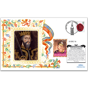 2016 950th Anniversary Coronation of William the Conqueror (William I) Westminster Abbey