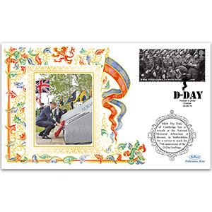2019 Prince William Commemorates 75th Anniversay D-Day