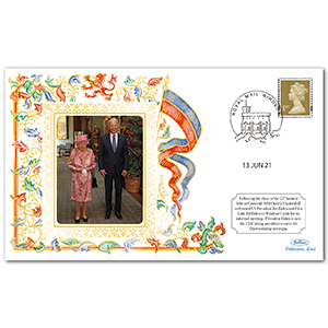 HM The Queen Welcomes President Biden at Windsor Castle