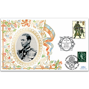 1996 Accession of George VI 60th - Doubled 2002