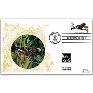 1998 USA - Crested Honeycreeper RSPB Official