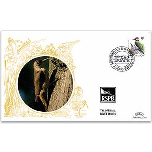 1998 Belgium - Belgian Woodpecker - Benham RSPB Official
