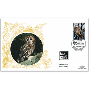 1999 Luxembourg - Tawny Owl RSPB Official