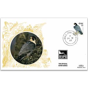 1999 Eire - Peregrine Falcon - Benham RSPB Official