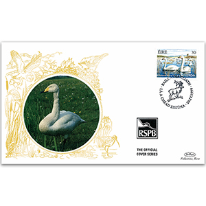 1999 Eire - Whooper Swan RSPB Official