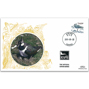 2001 Sweden - Lapwing RSPB Official