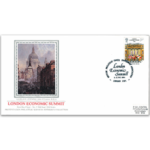 1984 London Economic Conference - Sotheby's Cover