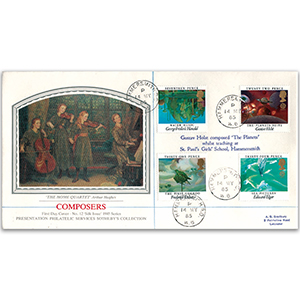 1985 Composers - Sotheby's Cover