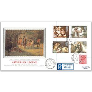 1985 Arthurian Legends - Lancelot Place SW7 - Sotheby's Cover