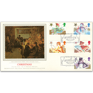 1985 Christmas - Sotheby's Cover