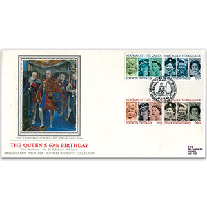 1986 HM The Queen's 60th Birthday - Lord High Admiral - Sotheby's Cover