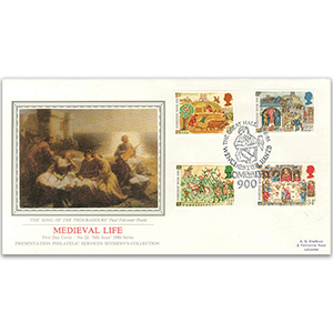 1986 Medieval Life - The Great Hall - Sotheby's Cover