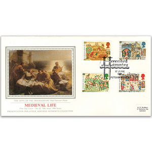 1986 Medieval Life - Sotheby's Cover