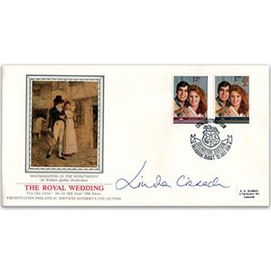 1986 Royal Wedding - Lullingstone Silk Farm - Signed by Lindka Cierach