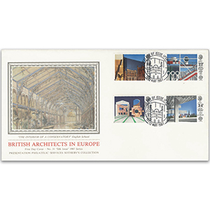 1987 Europa: British Architects in Europe - Sotheby's Cover