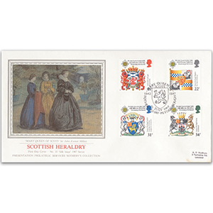 1987 Scottish Heraldry - Fotheringhay, Peterborough - Sotheby's Cover