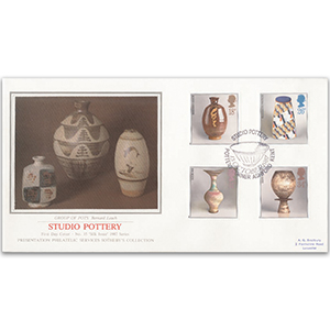 1987 Studio Pottery - Sotheby's Cover