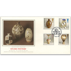 1987 Studio Pottery - St. Ives, Cornwall - Sotheby's Cover