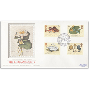 1988 The Linnean Society 200th - Waterside, Darwen, Lancs - Sotheby's Cover